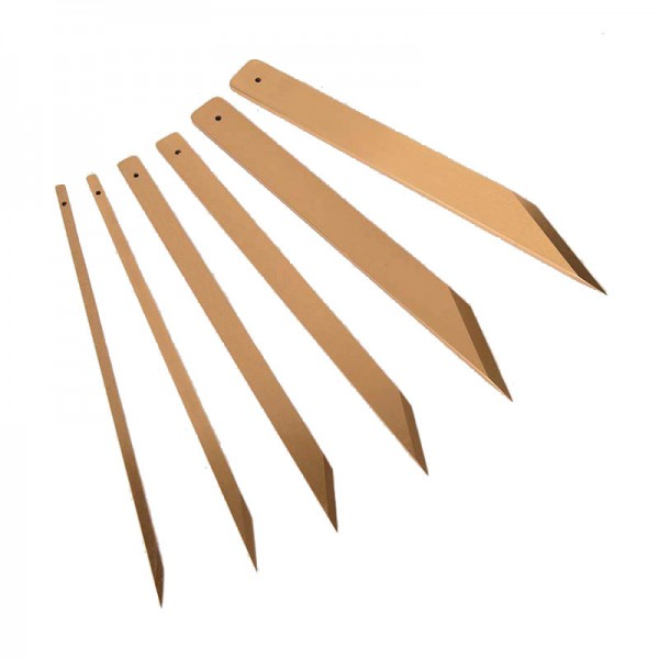 Double Sharpened Knife Blade