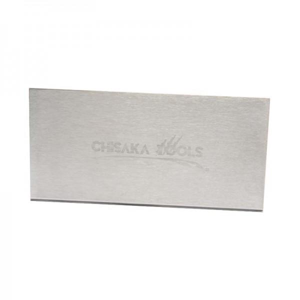 CHISAKA Hard Scraper - 60 mm x 120 mm