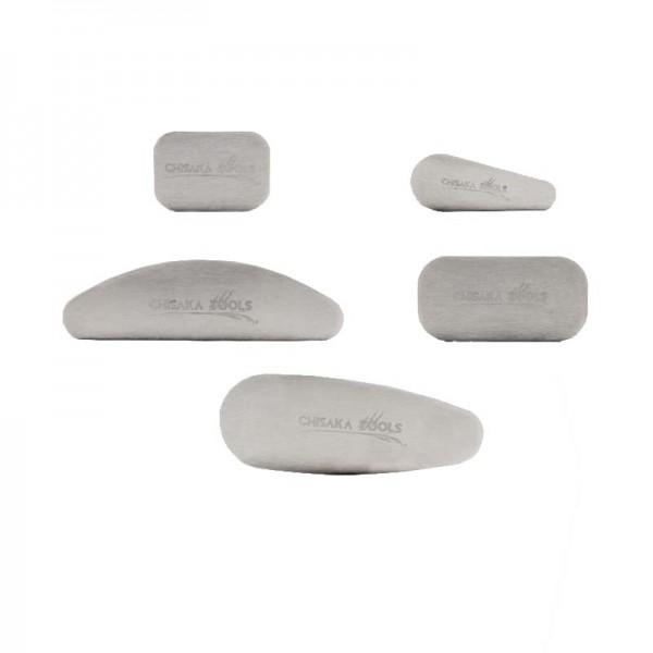 CHISAKA Set of 5 Scrapers