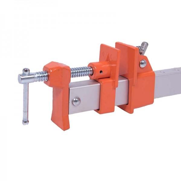 Set di 3 Morsetti per Giunte in Alluminio JORGENSEN - Larghezza di Bloccaggio 600 mm