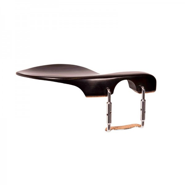 Pointed African Ebony Chinrest for Violin - Eco